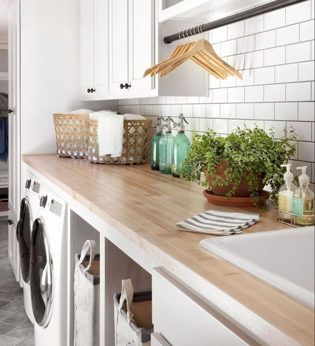 28 Modern Laundry Rooms Adopting Scandinavian Ideas